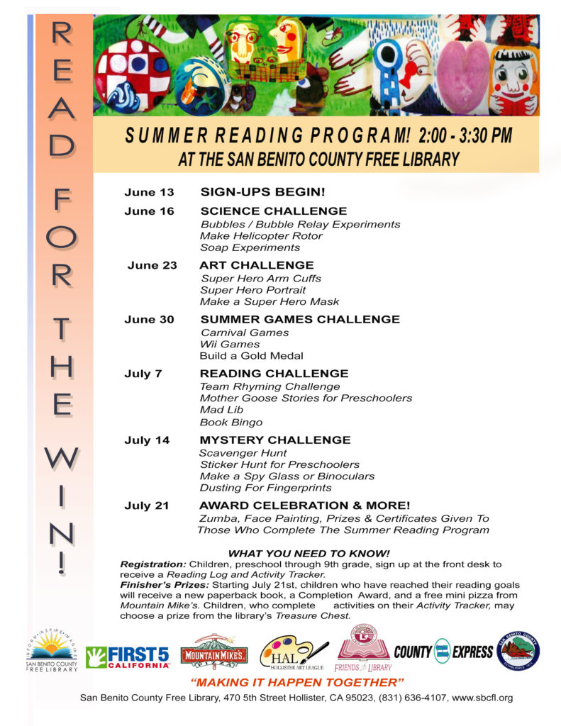 Photo of Summer Reading Program